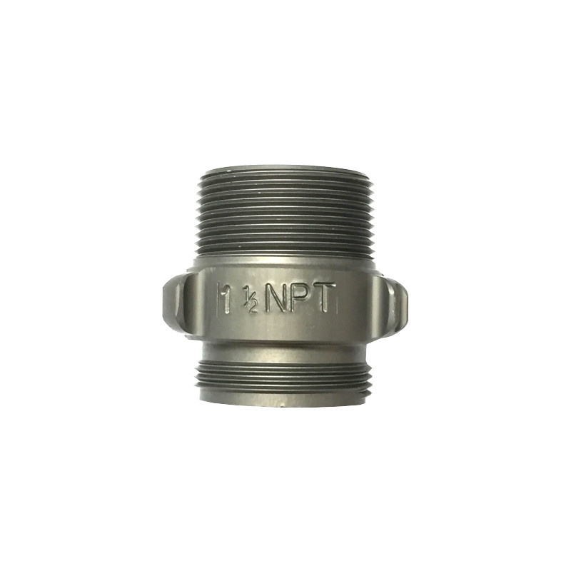 "ACTION COUPLING Action AA136 1.5"" NPSH X 1.5"" NPT Double Male Adapter"