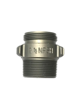 "Action Coupling 1.5"" NPSH X 1.5"" NPT Double Male Adapter"