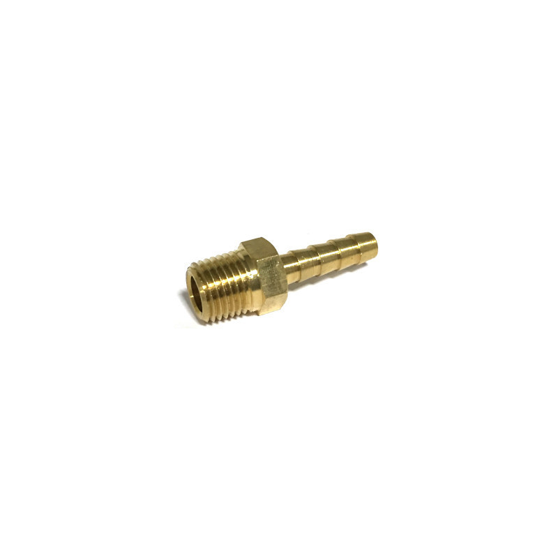 "Brass 1/4"" NPT Male X Hose Barb Fitting 32005"