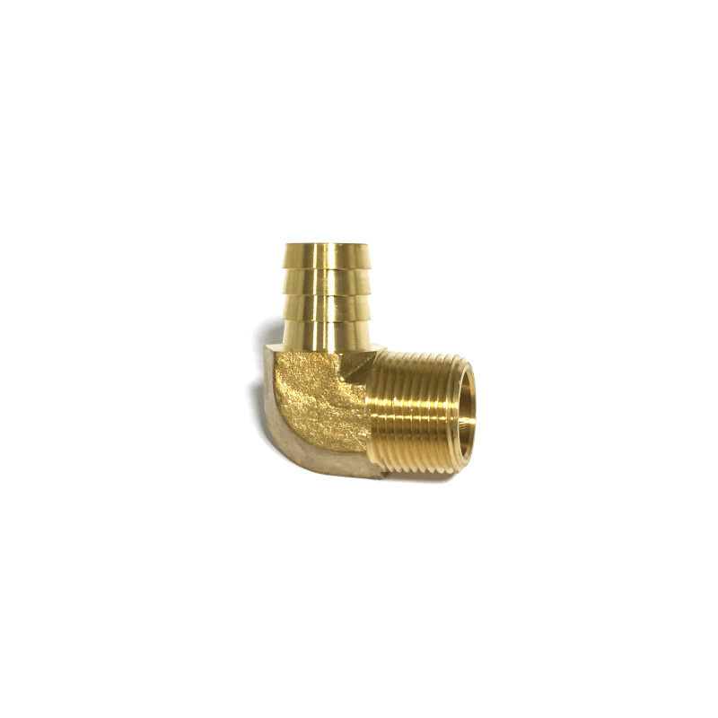 "Brass 3/4"" NPT Male X 3/4"" Hose Barb Fitting 32314"