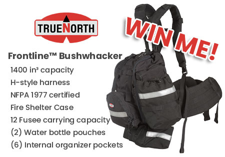 Win a Bushwhacker wildland backpack!