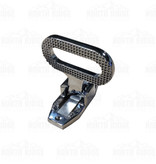 South Park Corp. Small Folding Step with Zinc Chrome Plated Finish