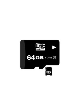 Fire Cam 64GB Class 10 Micro SDHC Card with Adapter
