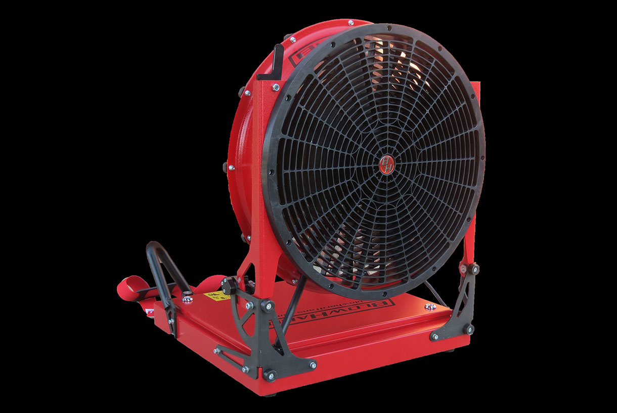 "BLOWHARD BH-20 20"" PPV Fan AC/DC Powered"