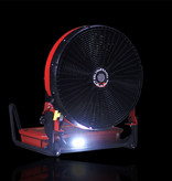 """BLOWHARD Quickee 20"""" High-Flow Jet PPV Fan AC/DC Powered"""
