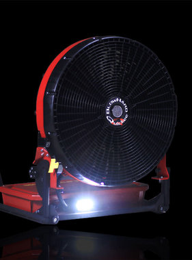 "BLOWHARD Quickee 20"" High-Flow Jet PPV Fan AC/DC Powered"