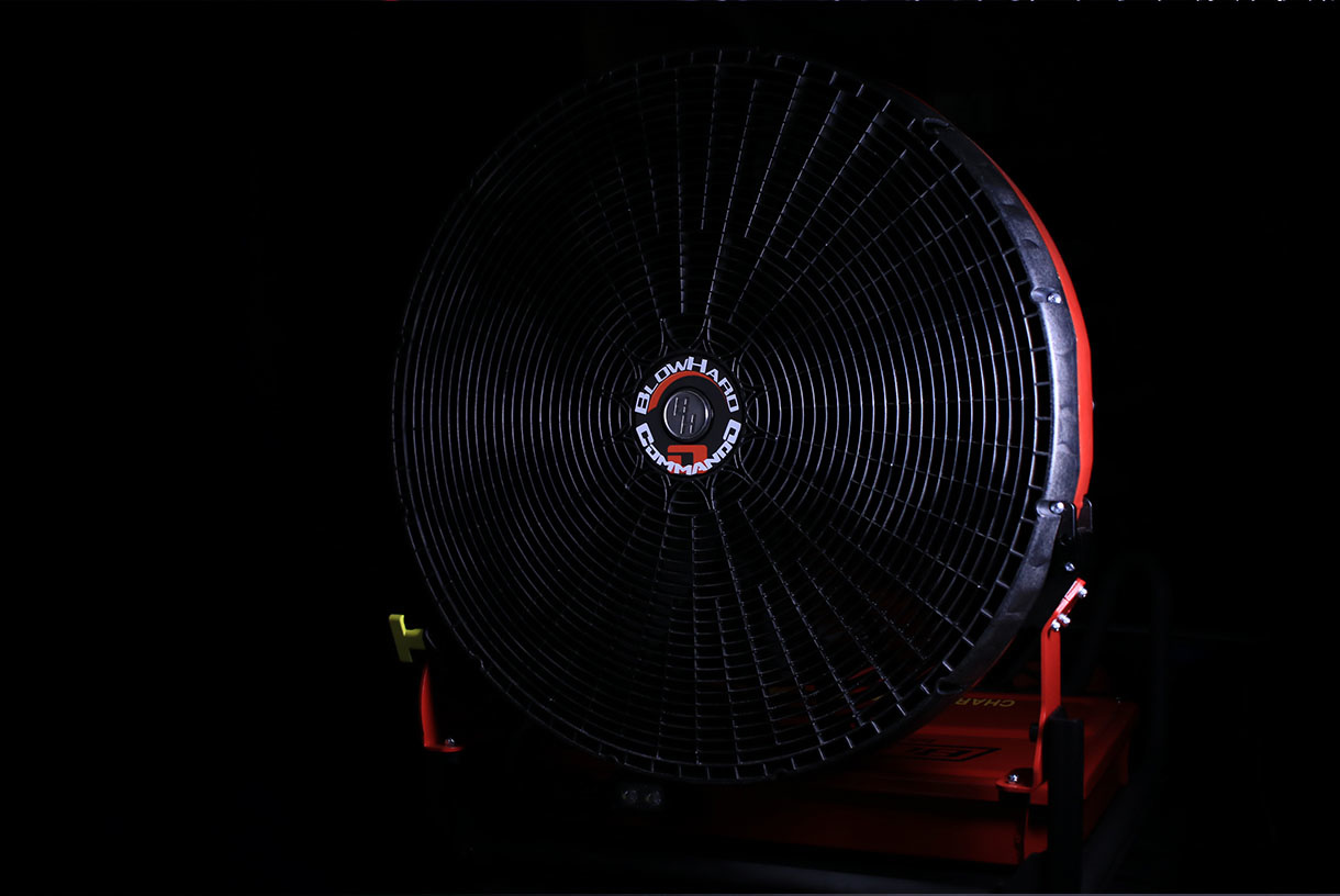"BLOWHARD Commando 24"" High-Flow Jet PPV Fan AC/DC Power"