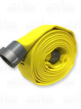 "Kuriyama Fire Products 2 1/2"" NST x 25ft Armtex Attack Fire Hose 42H25YN"