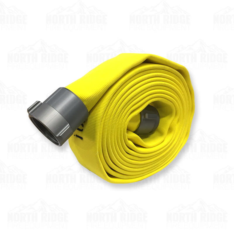 """Kuriyama Fire Products 2 1/2"""" NST x 25ft Armtex Attack Fire Hose 42H25YN"""