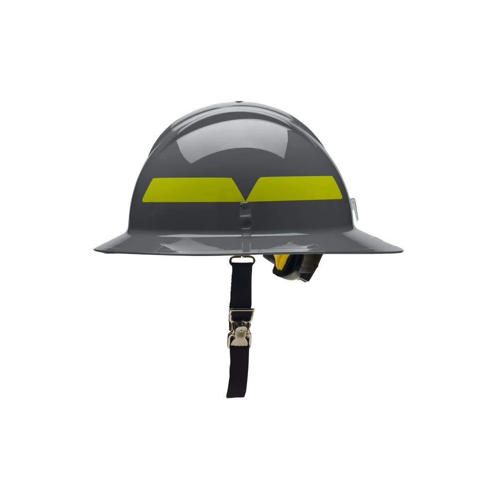c7a0f15e2 Dove Gray Bullard Wildland Full-Brim 6-Point Ratchet Fire Helmet Hat