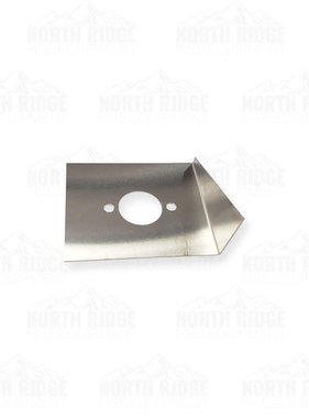 Mercedes Textiles (5) WICK® 375 Air-Guide Plate Exhaust Side #72PSO10-2043119