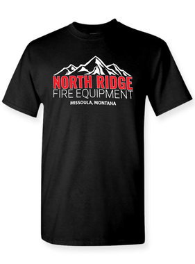 North Ridge Fire Equipment Logo T-Shirt (Black)