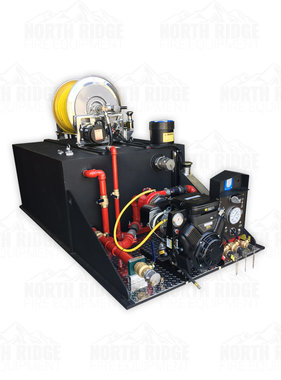 Custom 300-Gallon Slip-In Skid Tank Unit with Mercedes  23HP, W/4-Stage Pump