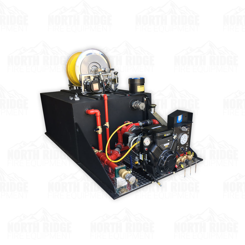 Custom 300-Gallon Slip-In Skid Tank Unit with Mercedes 23HP, 4-Stage Pump