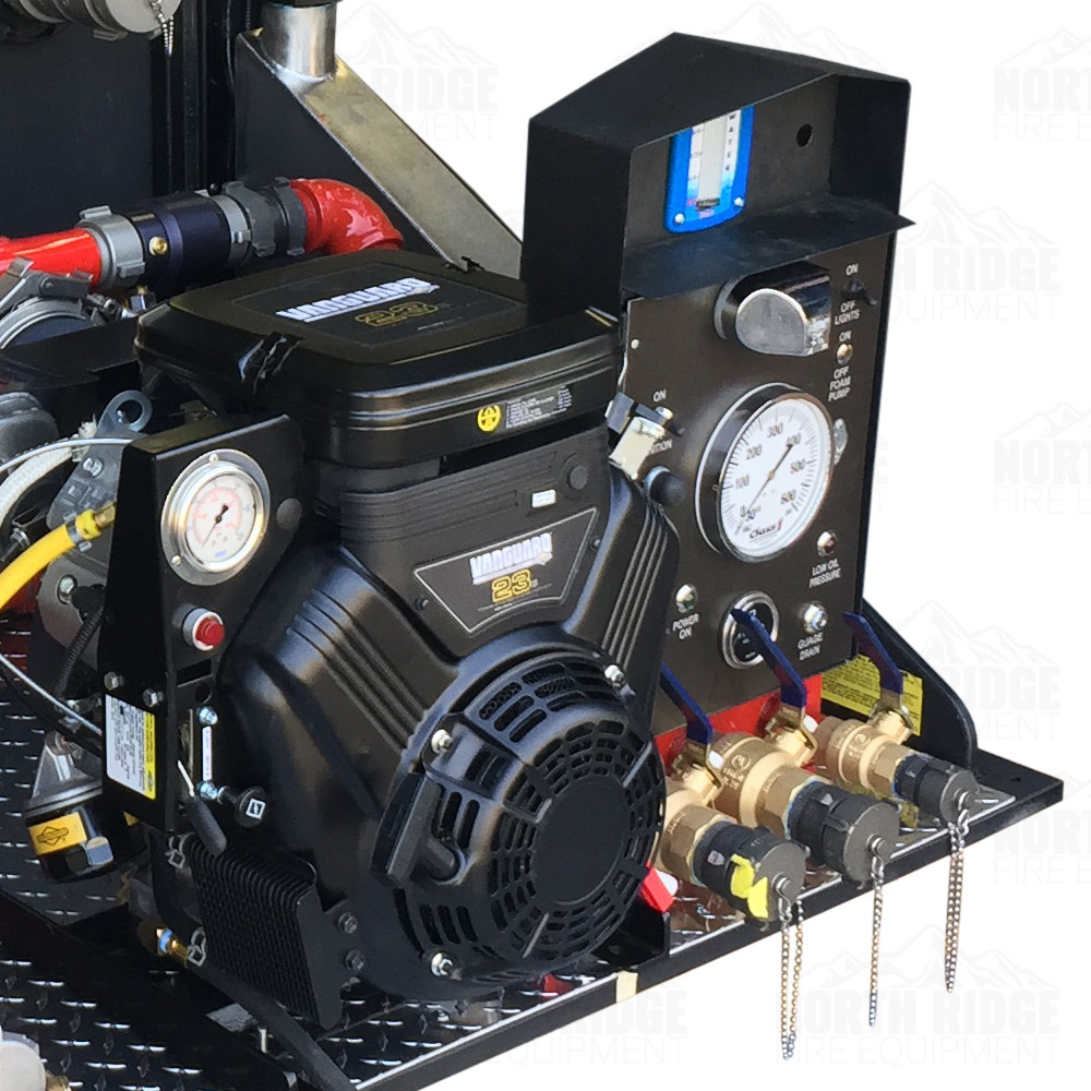 Custom 300-Gallon Slip-In Skid Unit with Mercedes 23HP, 4-Stage Engine