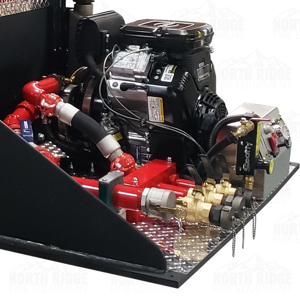 Custom 400-Gallon Firefighting Slip-In Unit Skid Tank w/23HP Hale Pump