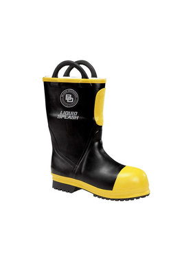 "BLACK DIAMOND Men's 11"" Black Diamond Rubber Firefighting Boot"