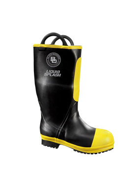 "BLACK DIAMOND Women's 16"" Black Diamond Rubber Firefighter Boot"