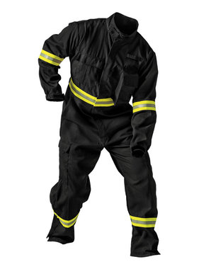 FireDex Fire-Dex TECGEN51 Black Coverall