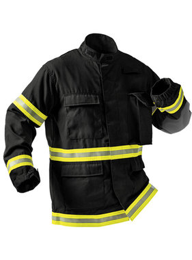 Fire-Dex TECGEN51 Level 3 Fatigue Jacket (Black)