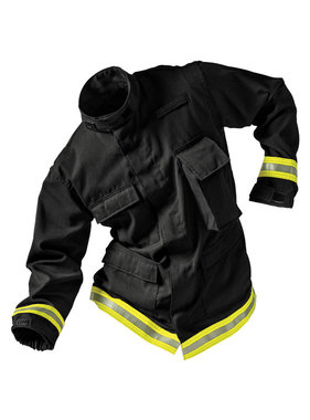 FireDex Fire-Dex TECGEN51 Level 1 Fatigue Jacket (Black)