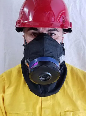 Hot Shield USA HS-4 Mask Combo (Mask, Storage Pouch and Respirator)