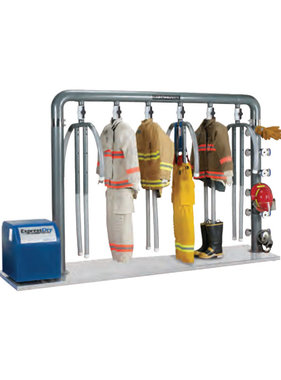 Continental 6-Unit ExpressDry Turnout Gear Drying System C6-MU