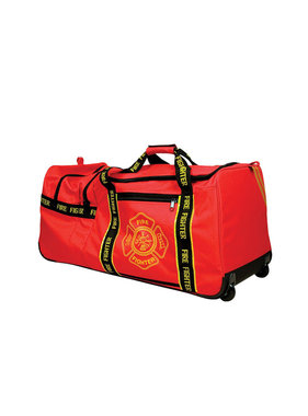 OccuNomix Large 4.5 cu. ft. Fire Gear Bag with Wheels