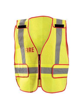 "OccuNomix OccuNomix DOR Deluxe Safety ""Fire"" Mesh Vest"