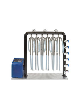 Continental 6-Unit ExpressDry Turnout Gear Air Dryer System with Heat XDH-6