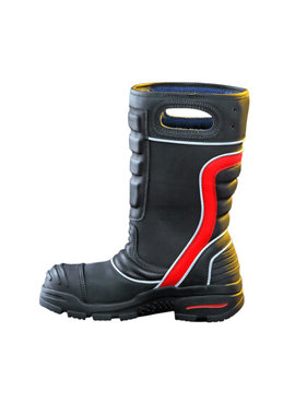 Fire-Dex Red Leather Firefighting Boot