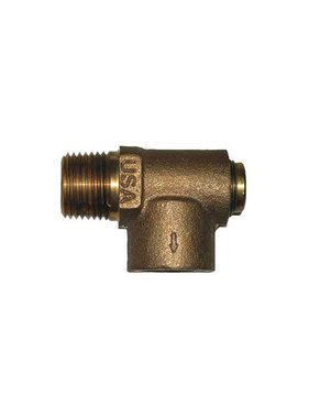 "Campbell 1/2"" Nonadjustable Pressure Relief Valve 75 PSI"