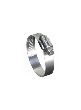 "1/2"" to 1-1/4"" Marine Grade Stainless Steel Hose Clamp"