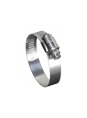 "1/2"" to 1-1/16"" Marine Grade Stainless Steel Hose Clamp"