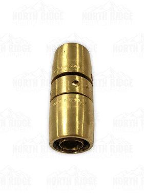 "Red Head BW134-B Brass 1"" NPSH Bar-Way Coupling 3/4"" Hose ID 1- 3/16"" OD"