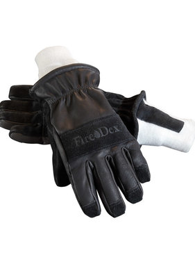 Fire-Dex Dex-Pro 3D Leather Glove w/Knitwrist Cuff