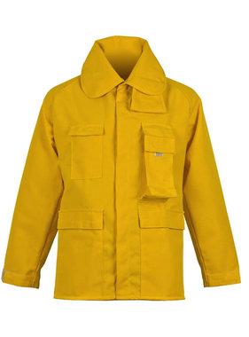 CrewBoss 7.5oz Nomex® IIA Yellow Brush Coat