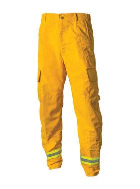 CrewBoss 7.5oz Nomex® IIIA Yellow Wildland Interface Brush Pants