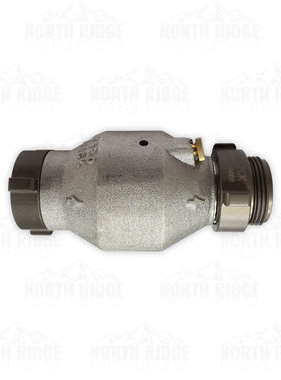 """Mercedes Textiles 1.5"""" NH In-Line Check Valve"""