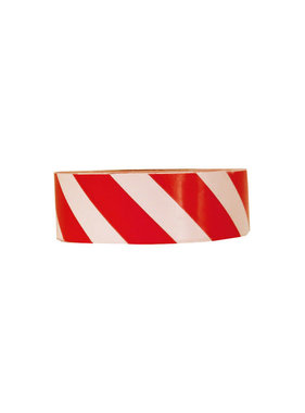 150' Red & White Striped Flagging Tape
