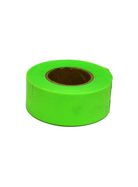 150' Glo Lime Green Flagging Tape