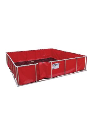 Husky Portable 1000 Gallon Folding Water Containment Tank