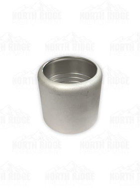 "Hale Products 2"" Stainless Ferrule Cap for 20VC Grooved Coupling"