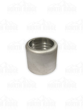 """Hale Products 1.5"""" Stainless Ferrule Cap for 15VC Grooved Coupling"""