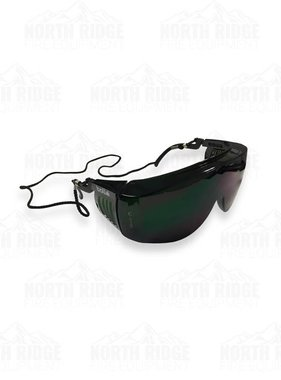 Bolle Override Over-the-Glasses Safety Goggles (Welding Shade 5)