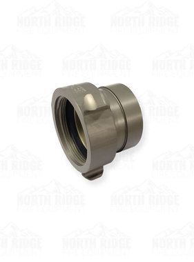 """Action Coupling 2"""" NPSH Rigid (female) x 2"""" Groove Coupling (male)"""