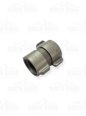 "Action Coupling 1"" NH Double Female Swivel Adapter"