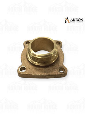 "Akron Brass 1.5"" NPT Male Flange Adapter"