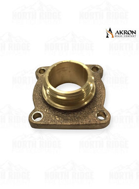 "Akron Brass 1.5"" NH Male Flange Adapter"