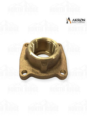 "Akron Brass 1.5"" NPT Female Flange Adapter"